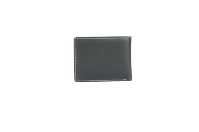 Camelide Halfinger Leather Wallet Black 2