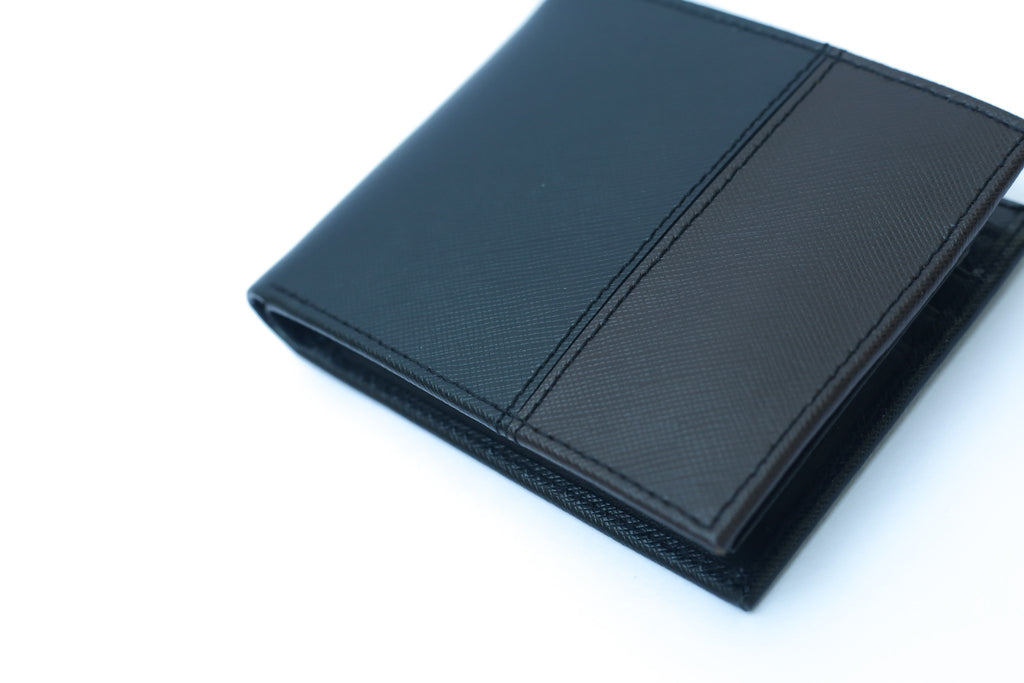 Camelide Percheron Leather Wallet Black 3