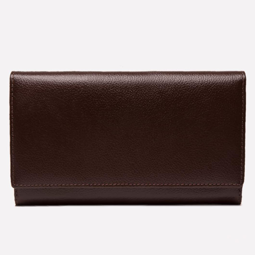 Women's Flap Over Purse Brown