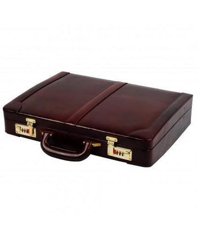 Heritage Ben Nevis Lid Over Attache Case with Multi Pockets