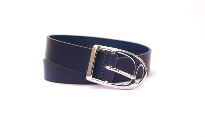 Ladies Navy Blue Belt
