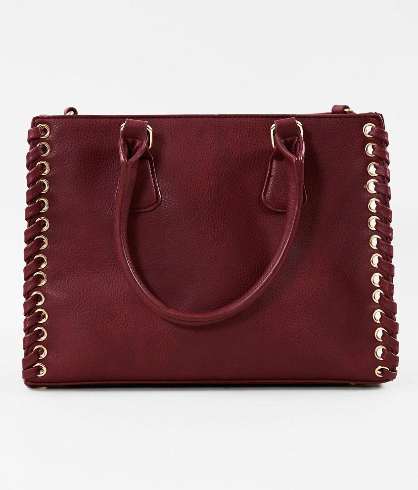Camelide Women's Structure Purse, Burgundy