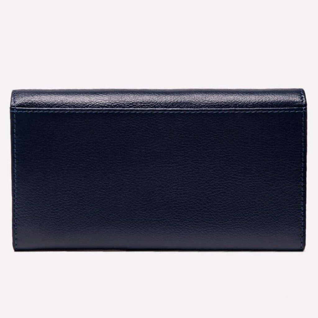 Women's Flap Over Purse, Marine Blue