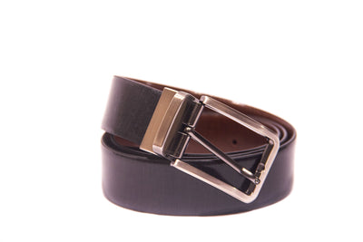 Men's Fabric Reversible Leather Belt 1