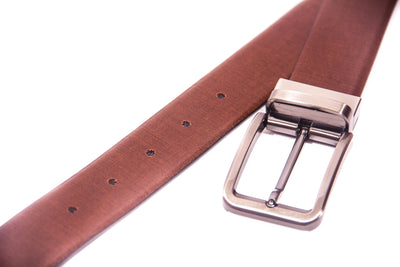 Men's Fabric Reversible Leather Belt 3
