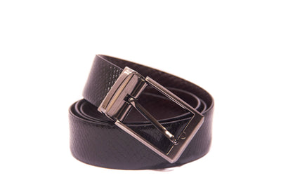 Men's Snake Reversible Leather Belt 1