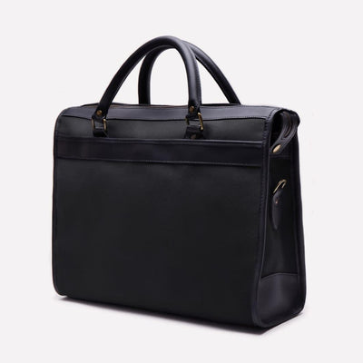 Women's Tennis Briefcase Bag, Black