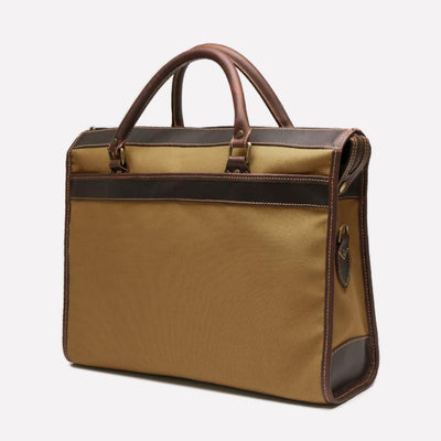Women's Tennis Briefcase Bag, Sand Tan