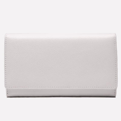 Women's Flap Over Purse White