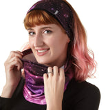 Ladies' Galaxy Active Ponytail Earband