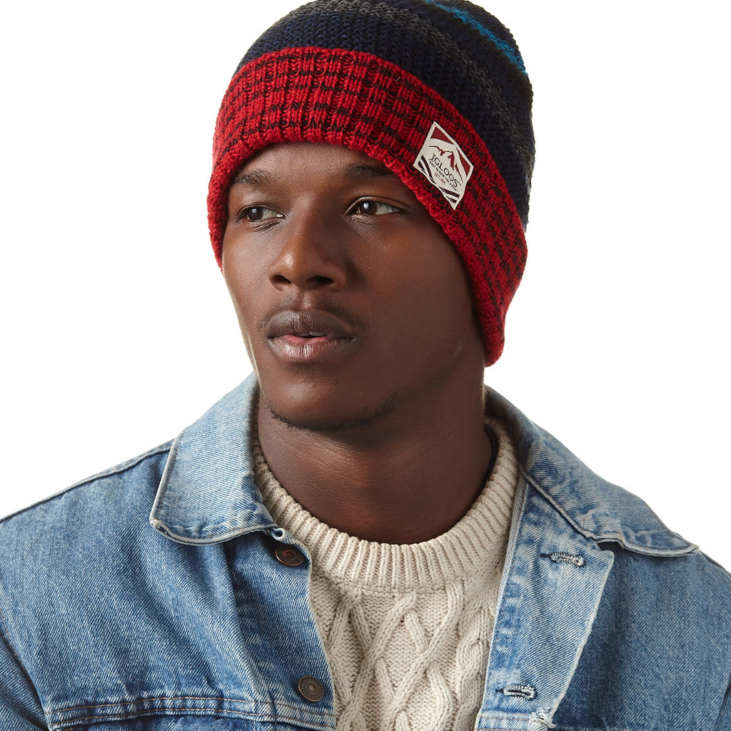 Men's Seedstitch Cuff Cap
