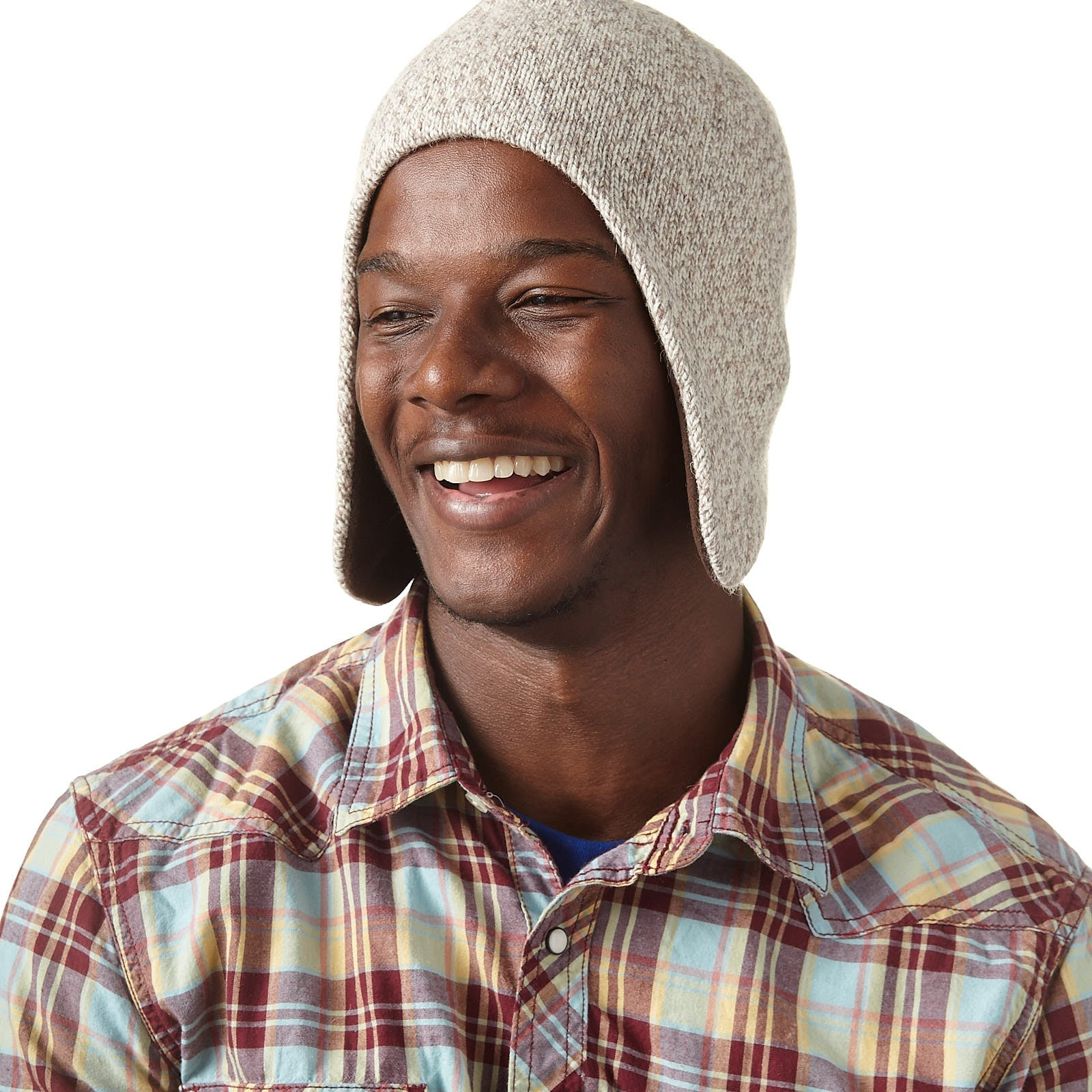 Ragg Wool Flap Cap