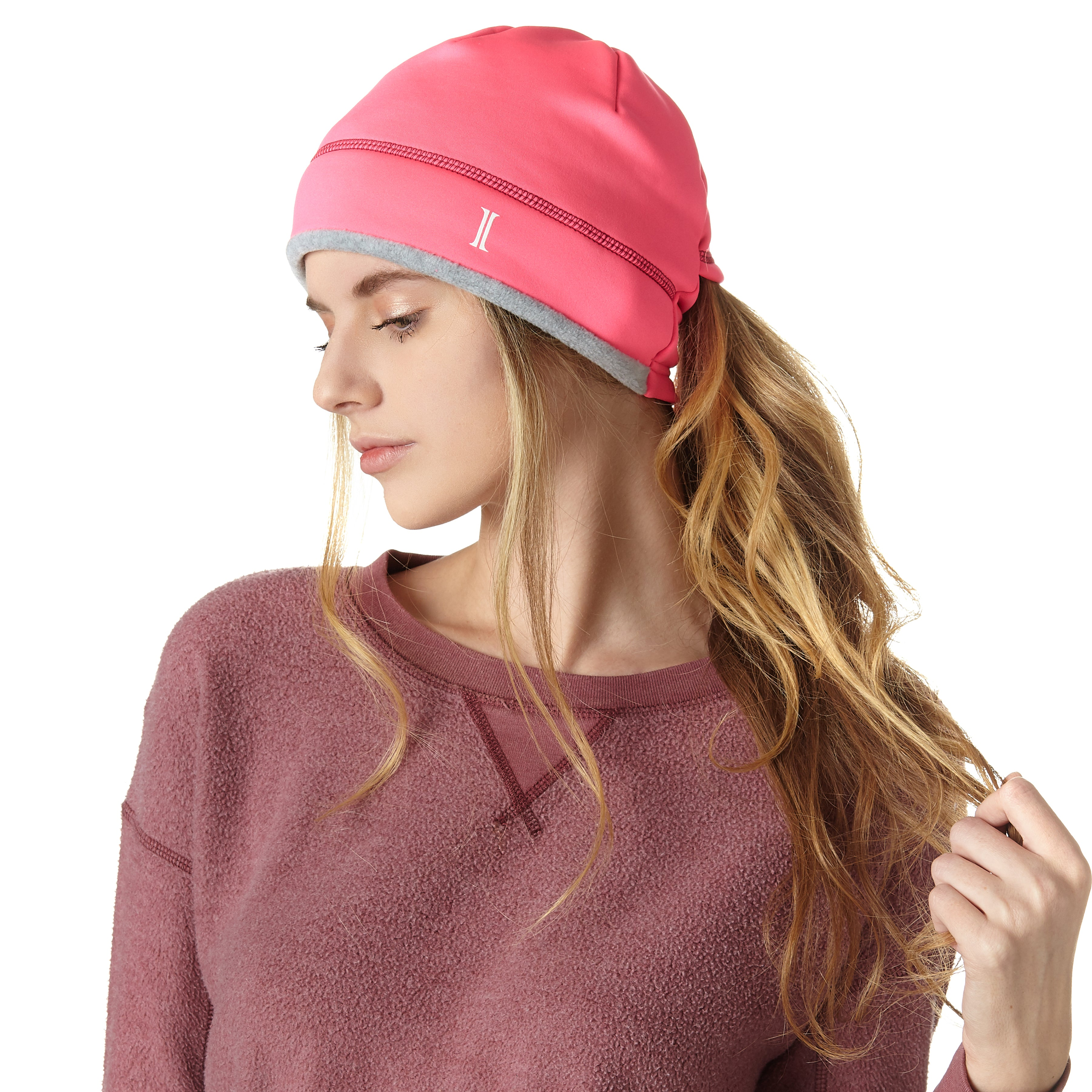 Ladies' Active Ponytail Beanie