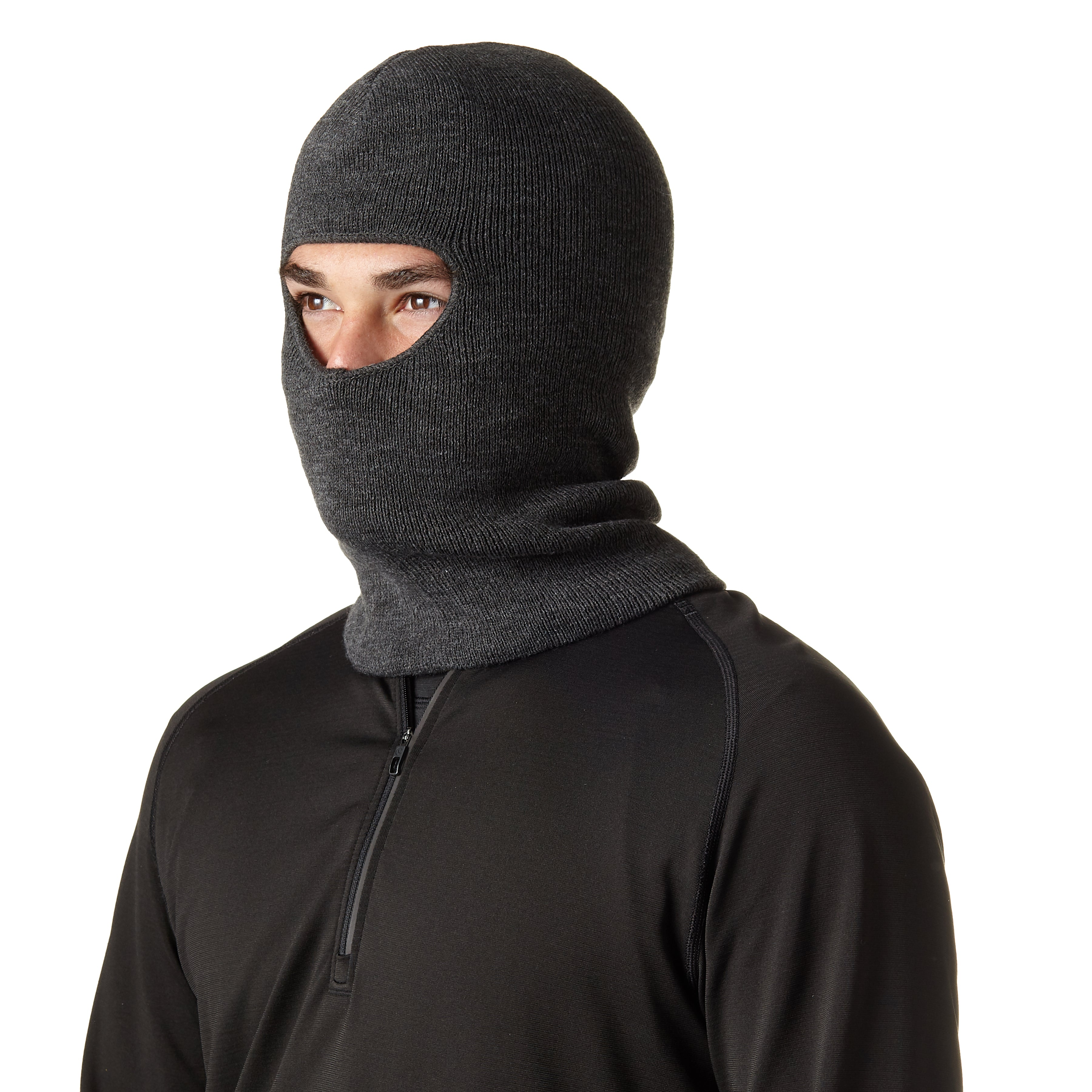 Men's Insulated Classic Ribbed Facemask