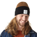 Men's Color Blocked Work Cuff Cap