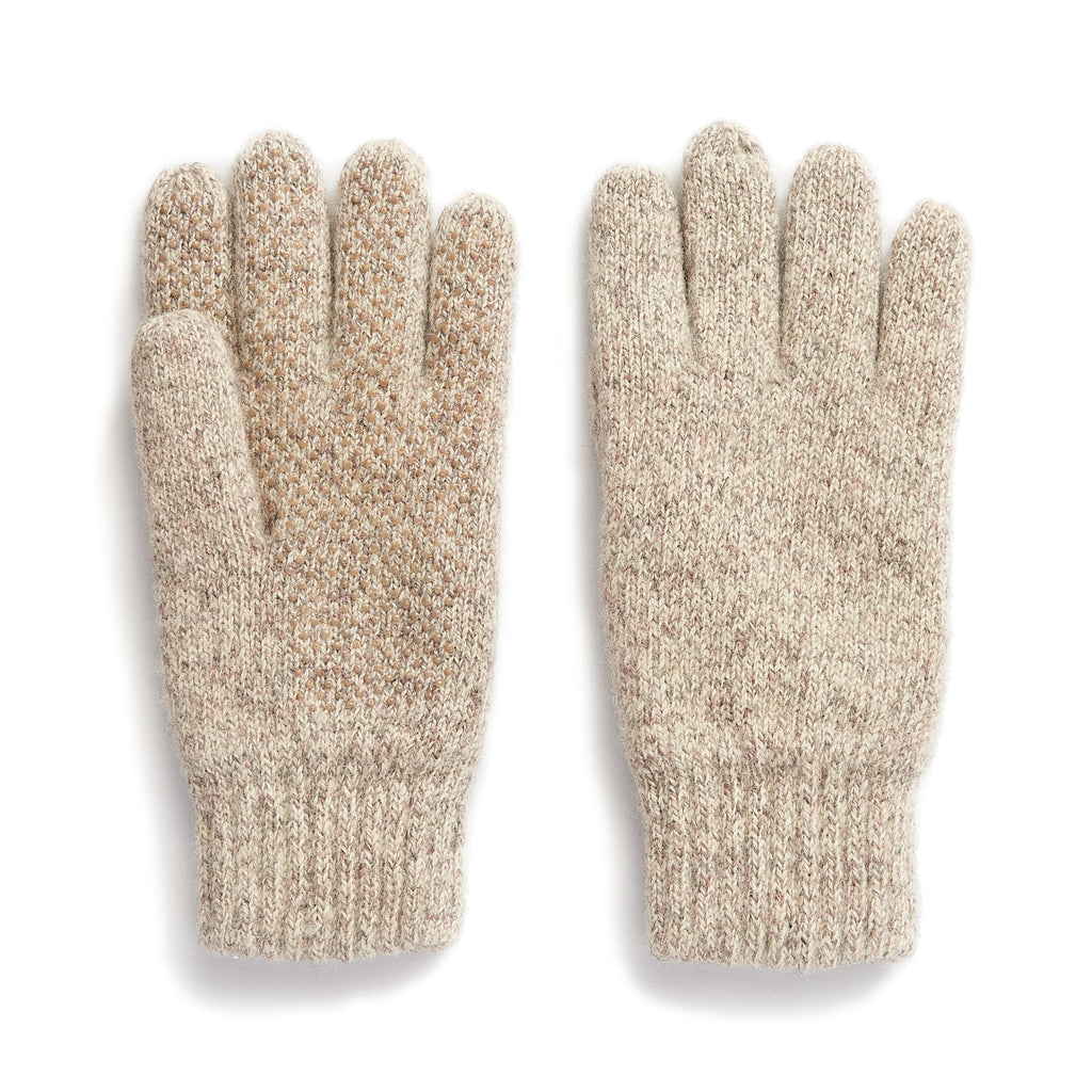 Insulated Ragg Wool Glove with Dotted Grip Palm