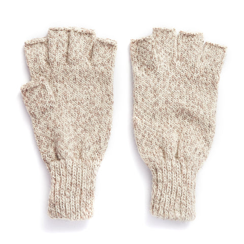 Ragg Wool Fingerless Glove
