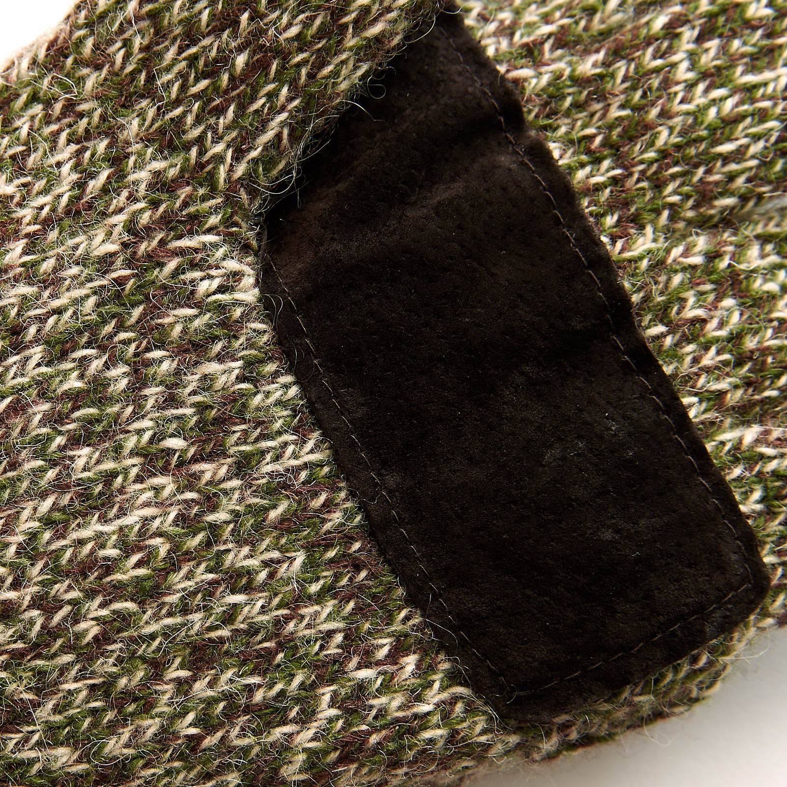 Insulated Ragg Wool Pop-Top Mitten