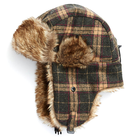 e88274b086420 Igloos Mens Wool Blend Trapper Hat Jacob ASH  (Outdoors ) Christmas gift