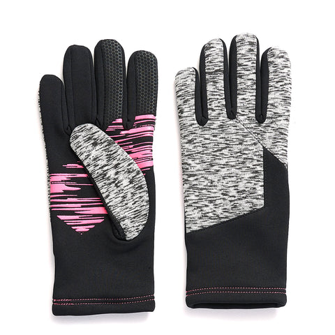 Ladies' CarbonASR™ Space Dye/Black Fleece Glove