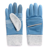 Ladies' Reflective Stretch Fleece Touch Glove