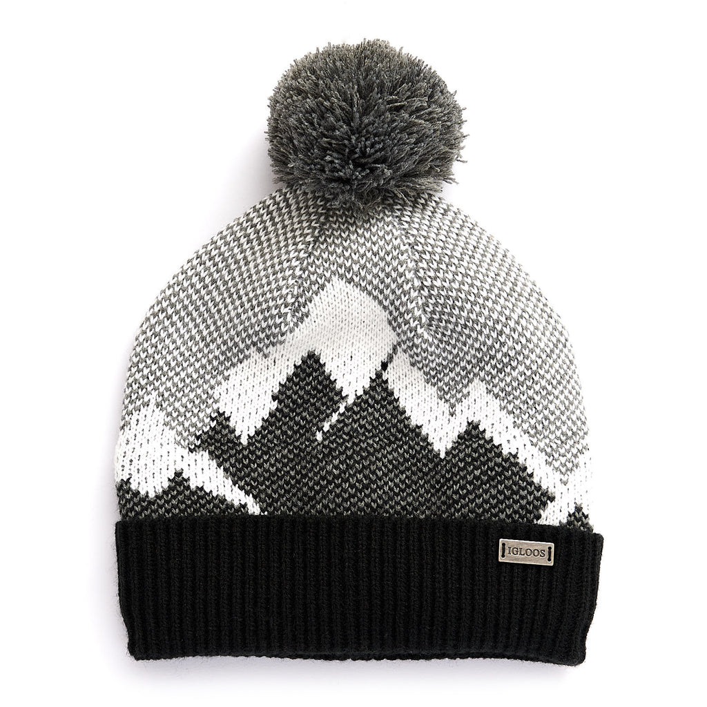 Ladies' Mountain Cuff Cap w/ Pom