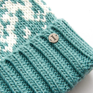 Ladies' Acrylic Snow Cap Cuff Cap