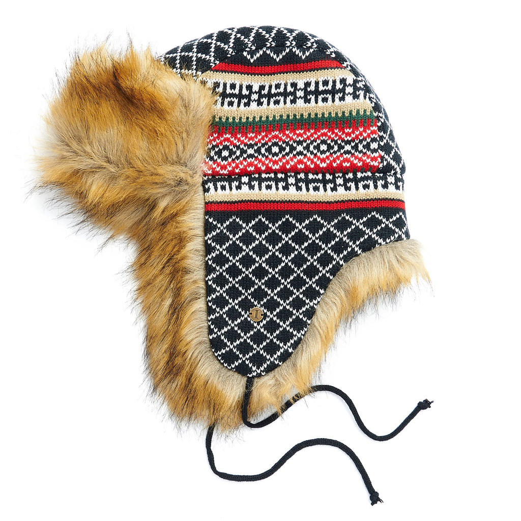 Ladies' Fair Isle Trapper