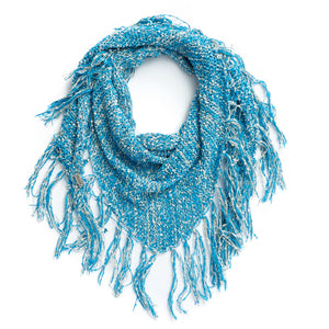 Ladies' Boucle Marl Triangle Scarf