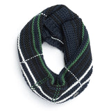Ladies' Tartan Knit Neck Loop