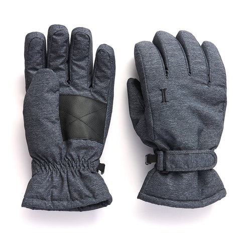 Men's Taslon Ski Glove - Charcoal