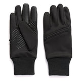 Men's Stretch Fleece Glove with Zippered Pocket
