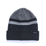 Men's Striped Cuff Cap