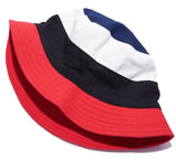 Americana Color Blocked Bucket Hat