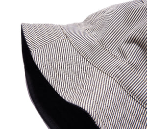 Railroad Striped Bucket Hat