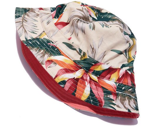 Tropical Floral Bucket Hat