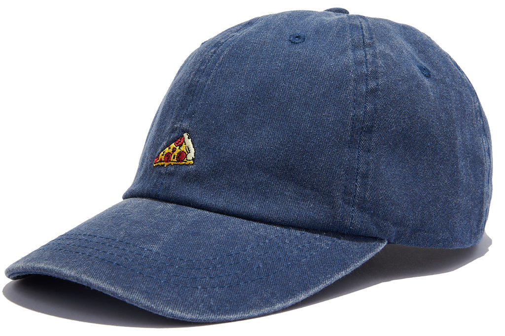 Canvas Adjustable Dad Hat - Pizza