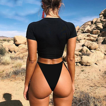 Load image into Gallery viewer, Sexy Bodysuit Thong Two-Piece Suit