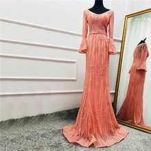 Load image into Gallery viewer, Long Sleeves Fashion Luxury Evening Dress