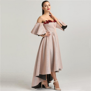 Sleeveless High-end Sexy Fashion Evening Dress