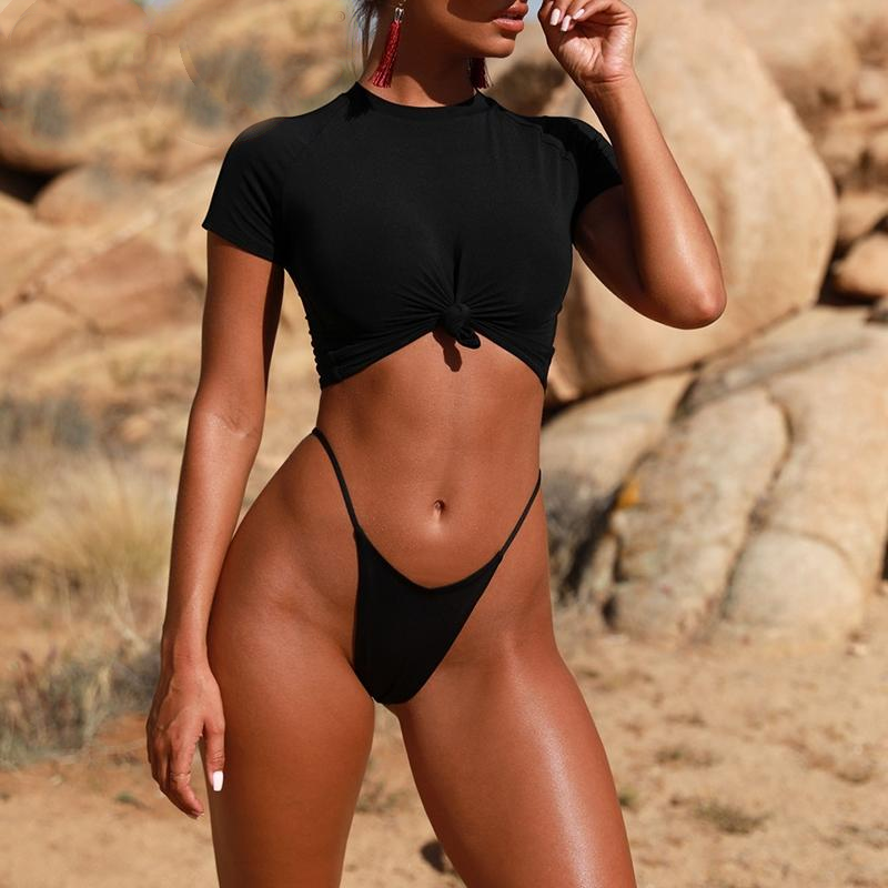 Sexy Bodysuit Thong Two-Piece Suit