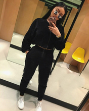 Load image into Gallery viewer, Velvet Tracksuit