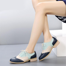 Load image into Gallery viewer, Leather Casual Designer Vintage Oxford Flat Handmade Shoes
