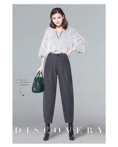 Wide Leg Pants Loose Harem