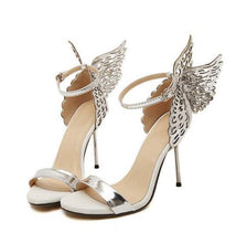 Load image into Gallery viewer, Butterfly  high heel pumps shoes