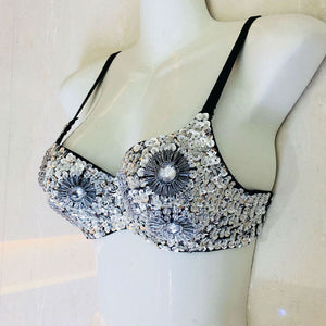 Sparkle Sequins Sexy 2 Piece Set