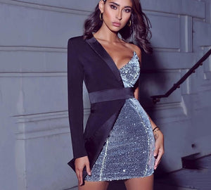Bodycon Slim Mini Dress