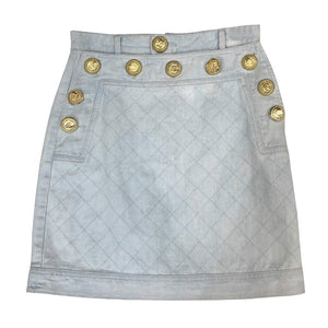 Autumn Retro Denim Skirt