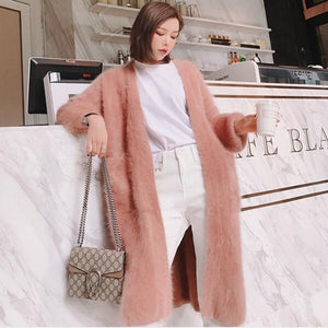 cardigans long sweater looser fashion