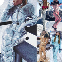 Load image into Gallery viewer, Winter Hooded Jumpsuits Parka Cotton